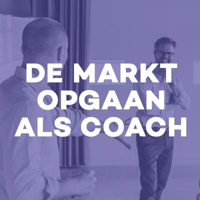 De markt opgaan als coach Online opleiding